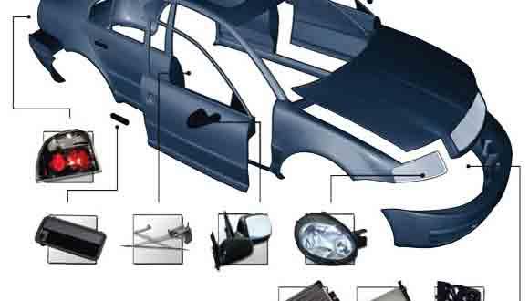 معرفی انواع قطعاتولوازم یدکی بدنه ی خودرو پراید